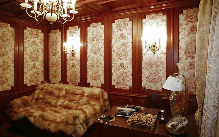 интерьер кабинета - фото № 12325