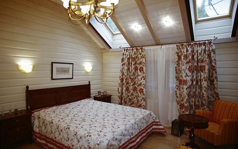 Загородный дом. спальня из проекта , фото №12331