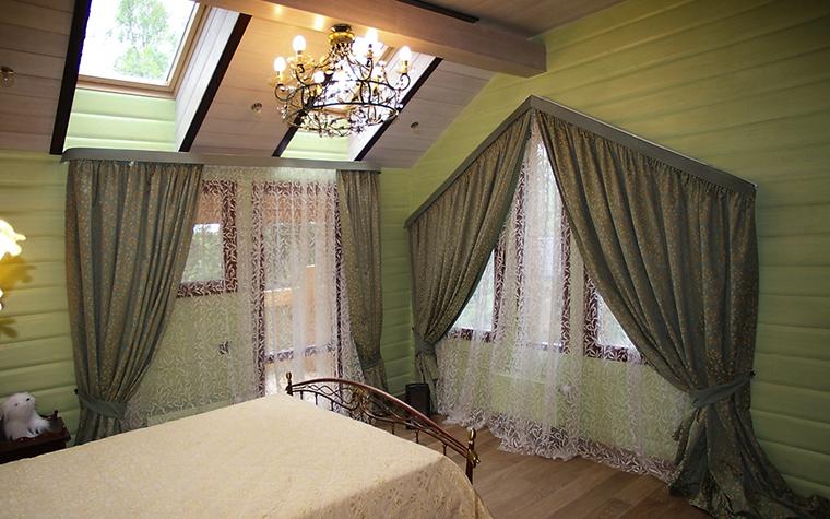 Загородный дом. спальня из проекта , фото №12317