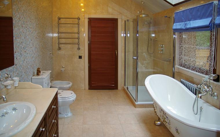 Загородный дом. ванная из проекта , фото №12319