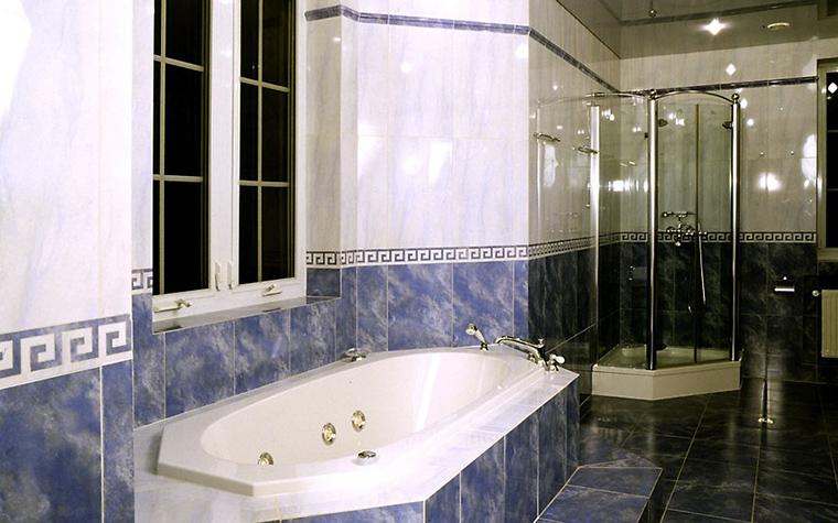 Загородный дом. ванная из проекта , фото №12494