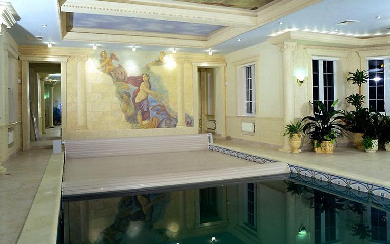 Загородный дом. бассейн из проекта , фото №12491