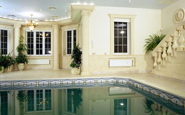 Загородный дом. бассейн из проекта , фото №12492