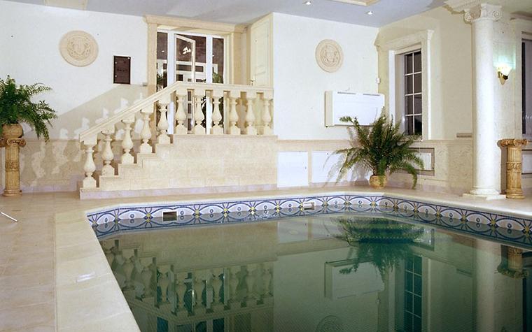 Загородный дом. бассейн из проекта , фото №12493