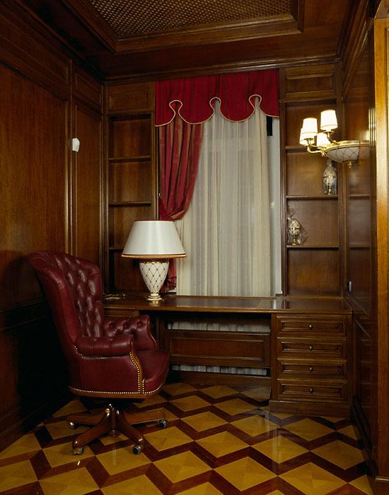 Фото № 12488 кабинет библиотека  Загородный дом