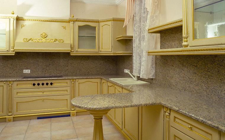Фото № 12490 кухня  Загородный дом
