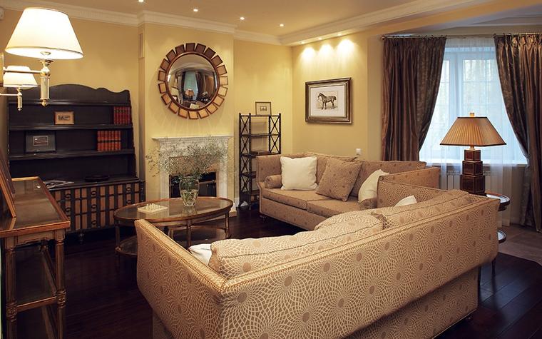 интерьер гостиной - фото № 12588
