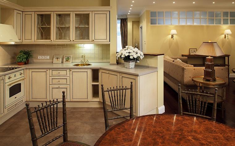 Загородный дом. кухня из проекта , фото №12591