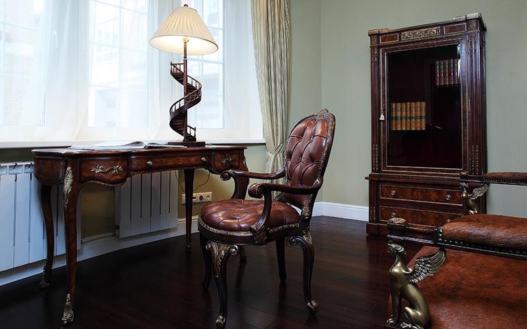 интерьер кабинета - фото № 12594