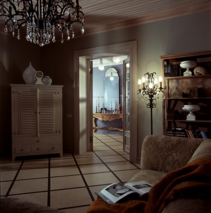 интерьер гостиной - фото № 12601