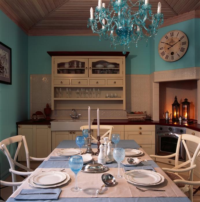 Фото № 12604 кухня  Загородный дом