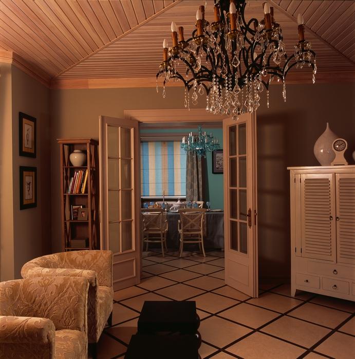 интерьер гостиной - фото № 12602