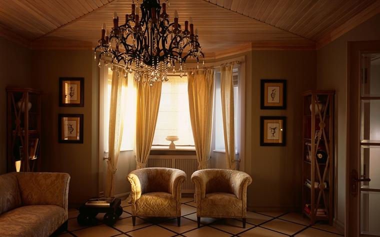 интерьер гостиной - фото № 12600