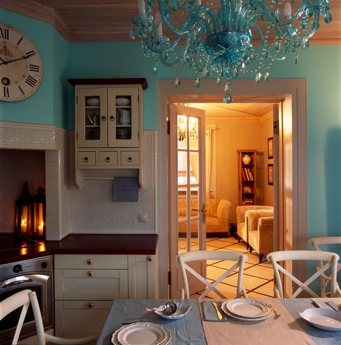 Фото № 12603 кухня  Загородный дом