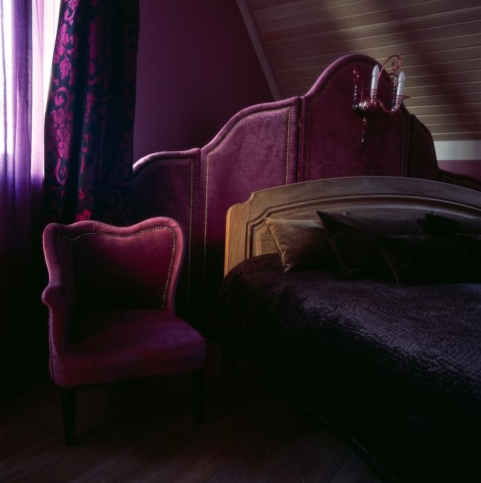 Фото № 12611 спальня  Загородный дом