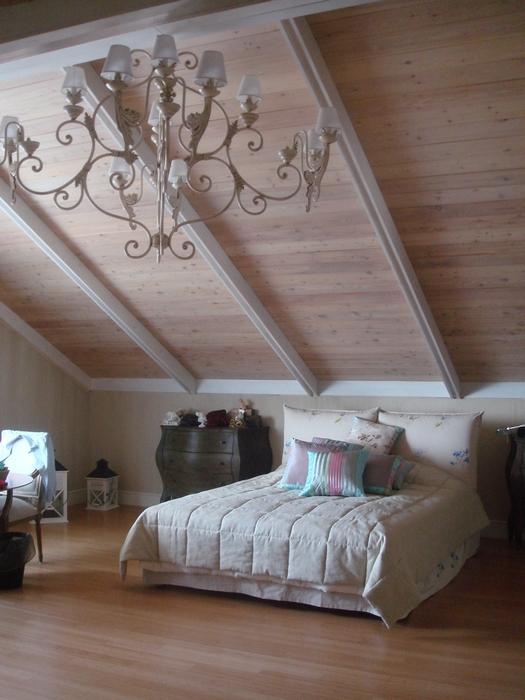 Фото № 12700 спальня  Загородный дом