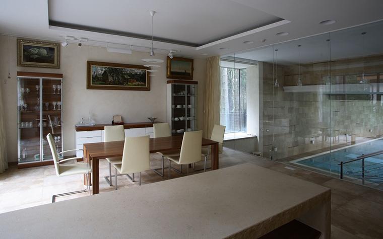 Загородный дом. столовая из проекта , фото №13249