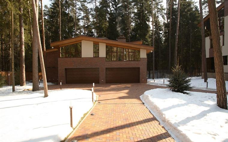 Загородный дом. гараж из проекта , фото №12800