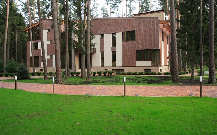 Загородный дом. фасад из проекта , фото №12793