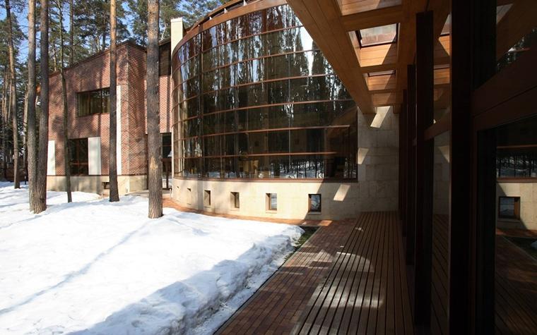 Загородный дом. фасад из проекта , фото №12794