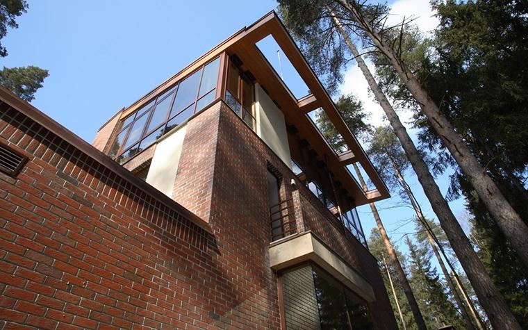 Загородный дом. фасад из проекта , фото №12795
