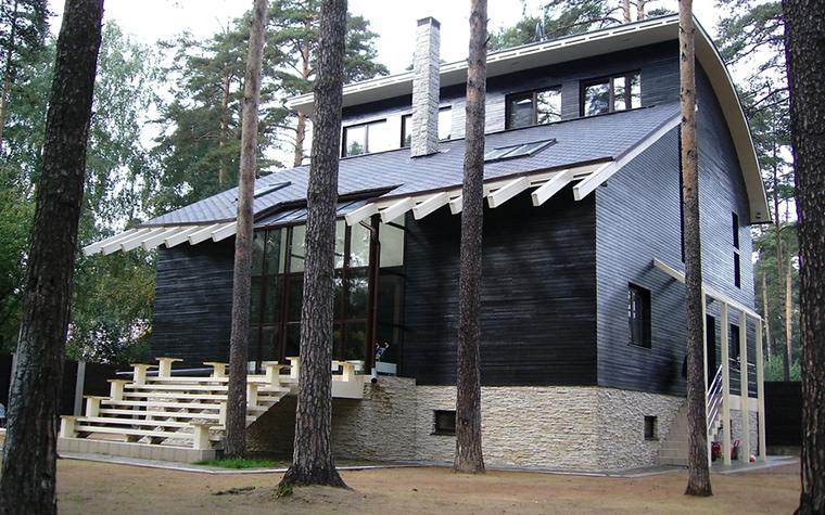 Загородный дом. фасад из проекта , фото №12802