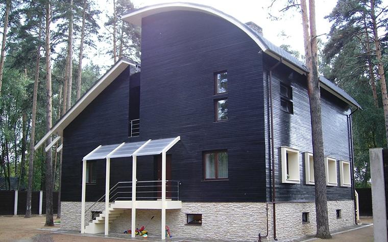 Загородный дом. фасад из проекта , фото №12803