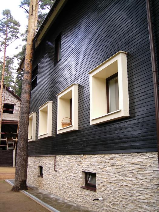 Загородный дом. фасад из проекта , фото №12804