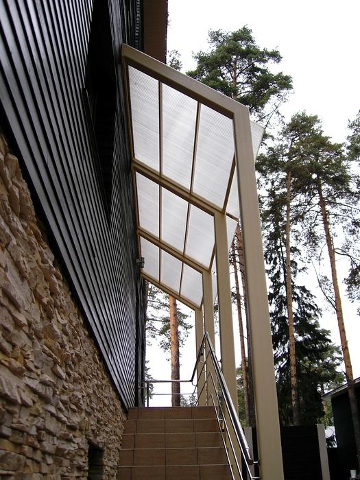 Загородный дом. фасад из проекта , фото №12805