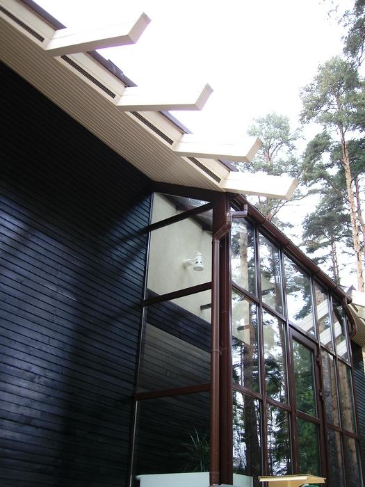 Загородный дом. фасад из проекта , фото №12806