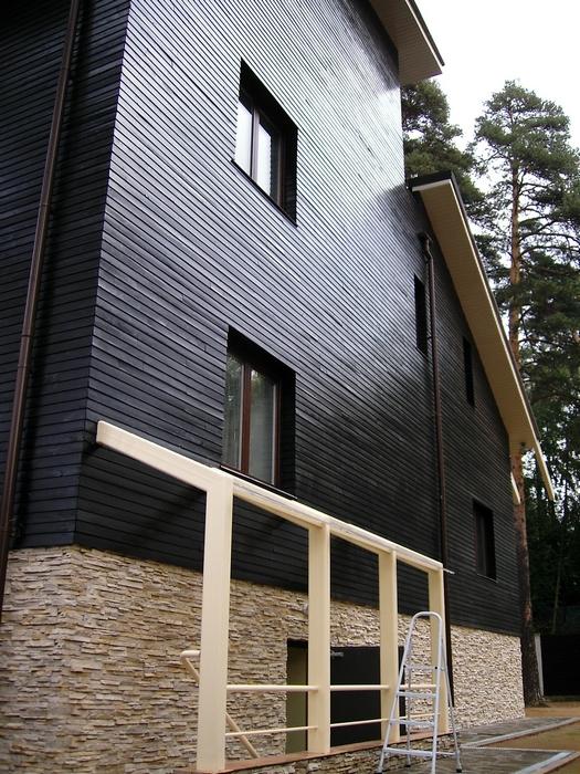 Загородный дом. фасад из проекта , фото №12808