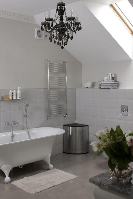 Фото № 12842 ванная  Загородный дом