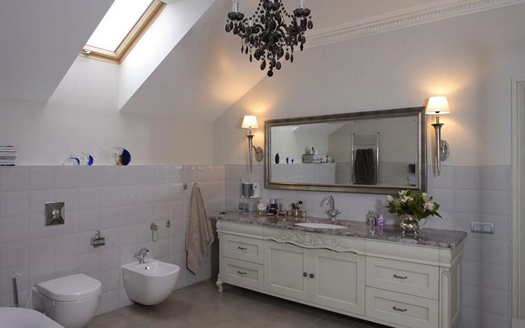 Фото № 12843 ванная  Загородный дом