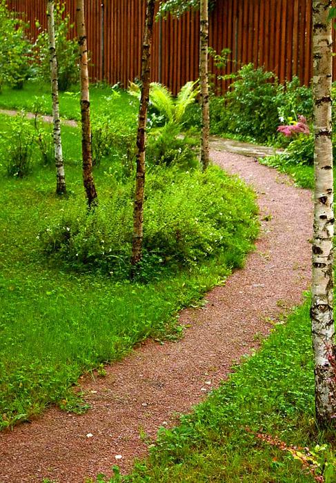 Фото № 13006 дорожка  Загородный дом