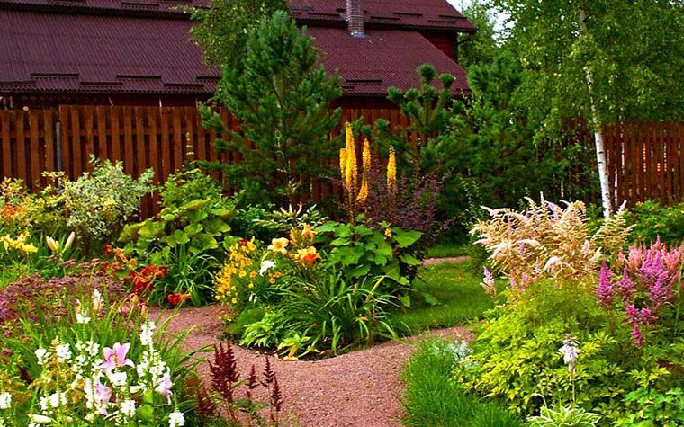Фото № 12998 дорожка  Загородный дом