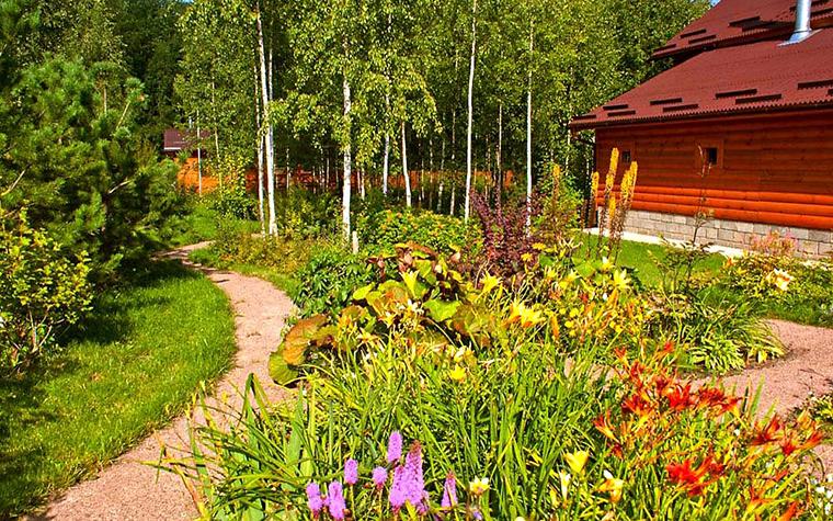 Фото № 13011 дорожка  Загородный дом