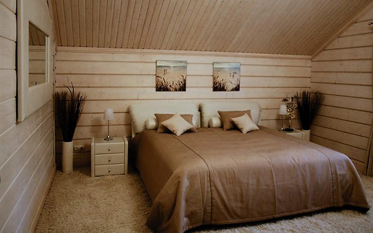 Фото № 13072 спальня  Загородный дом