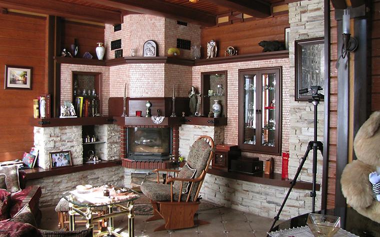 Фото № 13255 гостиная  Загородный дом