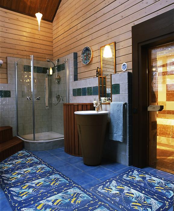 Фото № 13287 ванная  Загородный дом