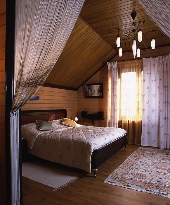 Фото № 13288 спальня  Загородный дом
