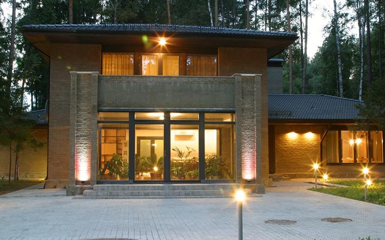 Загородный дом. фасад из проекта , фото №13543