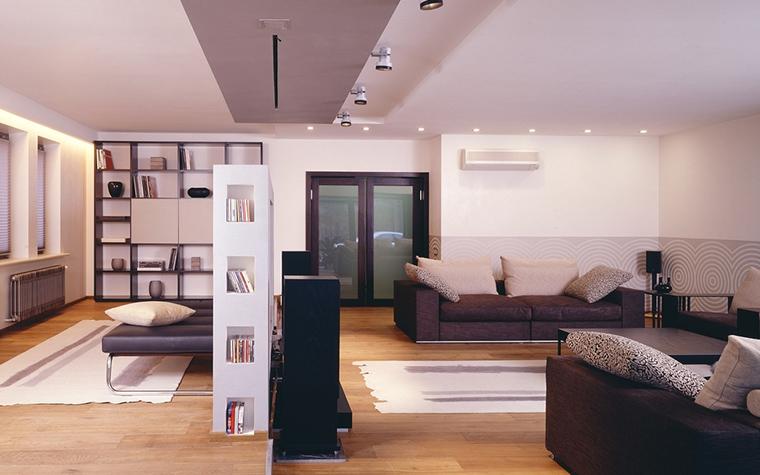 интерьер гостиной - фото № 13545