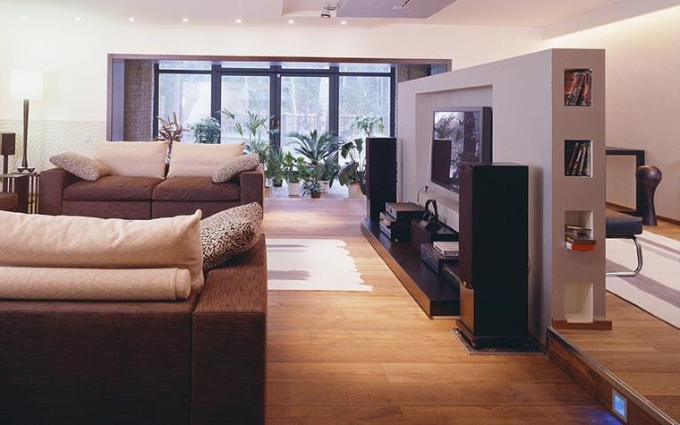 интерьер гостиной - фото № 13547