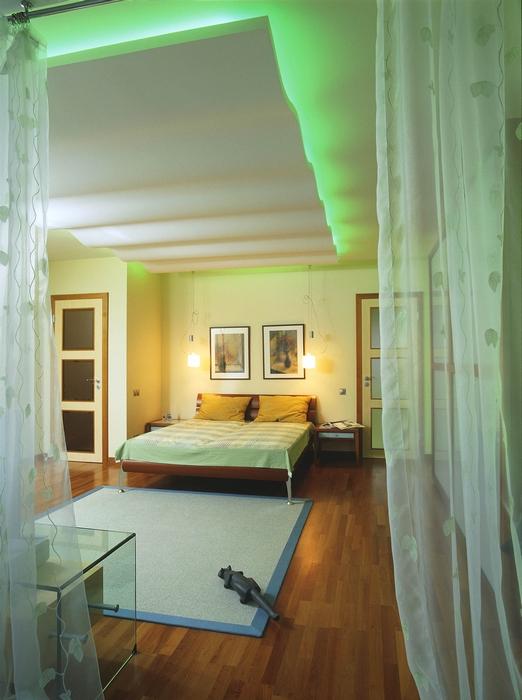 Фото № 13582 спальня  Загородный дом