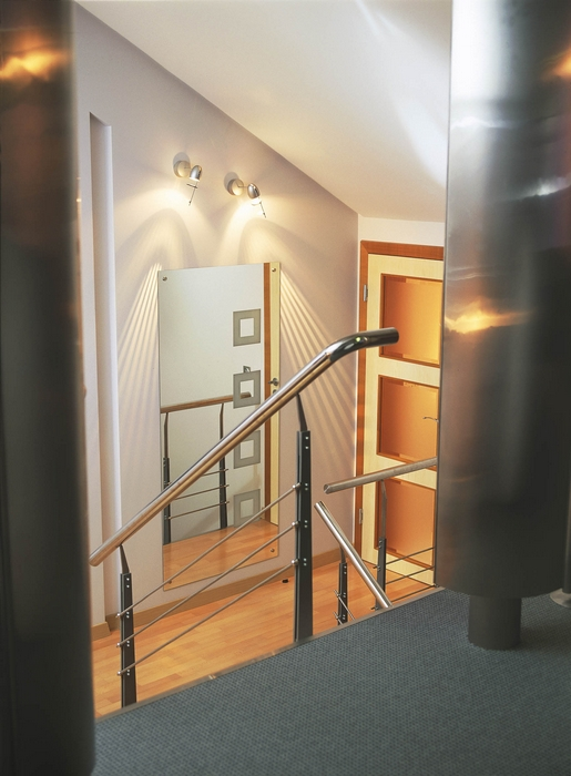 Загородный дом. холл из проекта , фото №13579