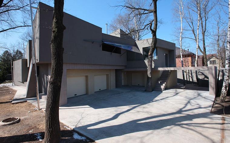 Загородный дом. фасад из проекта , фото №13745