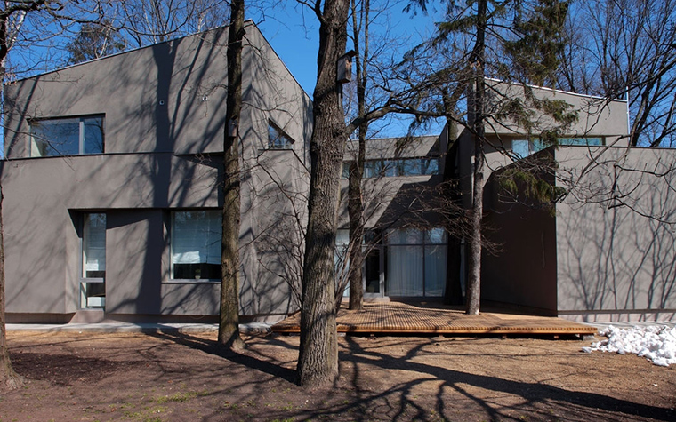 Загородный дом. фасад из проекта , фото №13752
