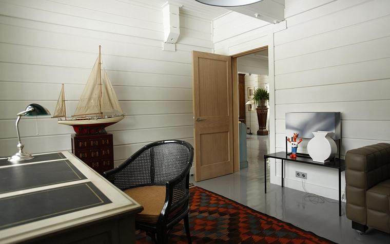 Загородный дом. кабинет из проекта , фото №13780