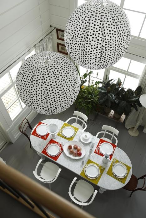 Загородный дом. столовая из проекта , фото №13774