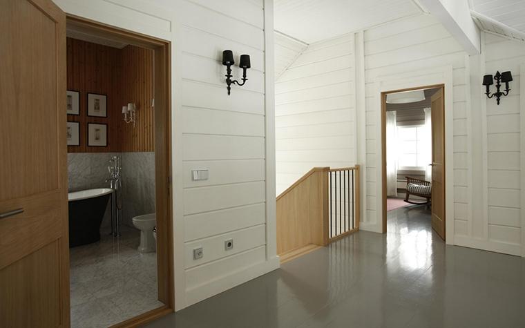 Загородный дом. холл из проекта , фото №13778